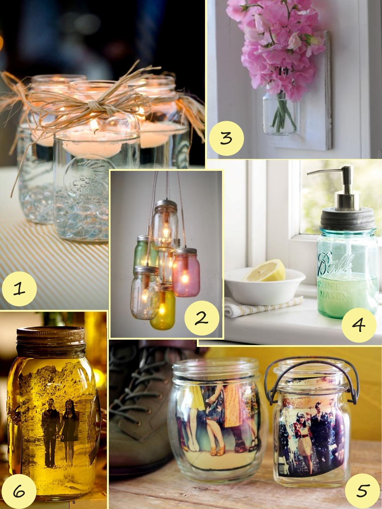 mason jar decorating ideas