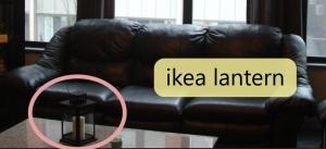 Ikea Candle Lantern