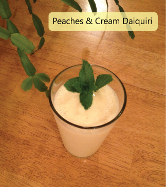 Peaches & Cream Daiquiri
