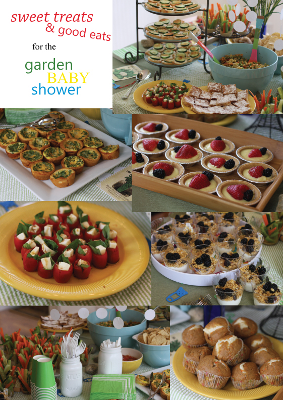 baby shower food pinterest garden baby shower
