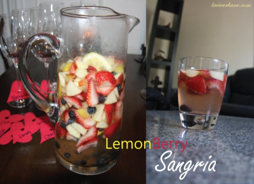Sangria, the finished product
