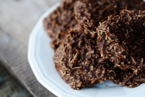 Gluten Free No-Bake Cookies