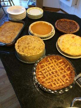 so many pies